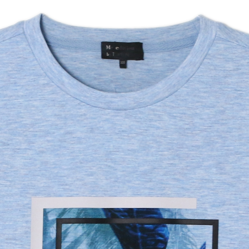 탑텐(TOPTEN) 남성)그래픽 반팔 티셔츠(LBL)_MSY2TS1505